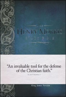 The KJV Henry Morris Study Bible, Hardcover   -
