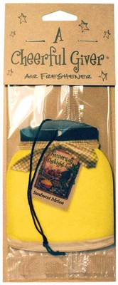 Sunburst Melon Air Freshener  -
