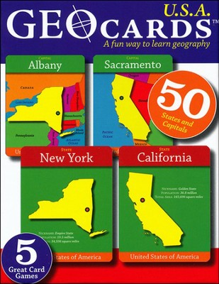 GeoCards USA   -