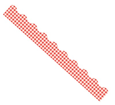 Red Gingham Terrific Trimmer  -