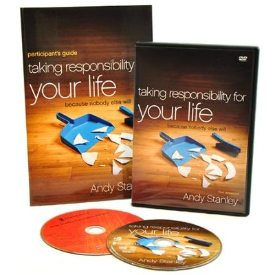 Taking Responsibility for Your Life Participant's Guide with DVD: Because Nobody Else Will  -     By: Andy Stanley