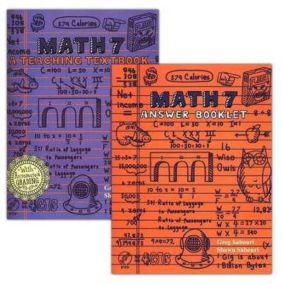 Teaching Textbooks Math 7 Extra Workbook & Answer Key   -     By: Greg Sabouri, Shawn Sabouri