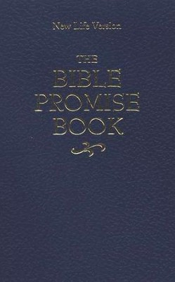 The NLV Bible Promise Book--imitation leather, blue   -