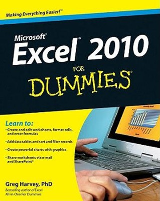 Excel 2010 for Dummies   -     By: Greg Harvey