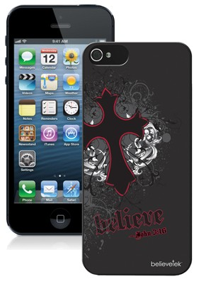Cross iPhone 5 Case, Black  -