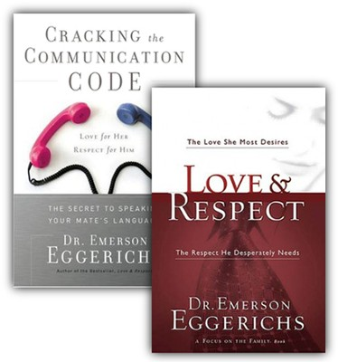 Love & Respect/Cracking the Communication Code, 2  Volumes with DVD  -     By: Dr. Emerson Eggerichs