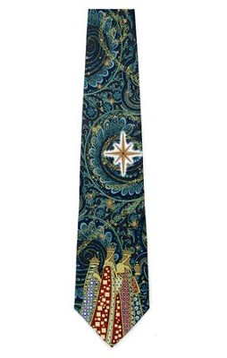Wise Men Silk Tie   -
