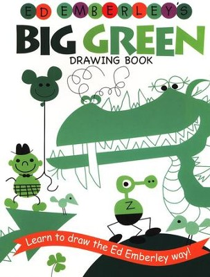 Ed Emberley's Big Green Drawing Book (Repackaged)  -     By: Ed Emberley