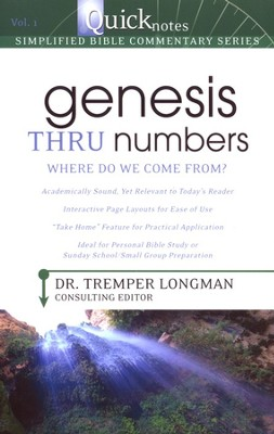 Genesis Thru Numbers: Where Do We Come From?   -     By: Tremper Longman III