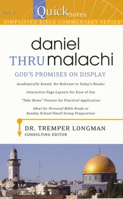 #7: Daniel thru Malachi--Who Rules You?   -     By: Tremper Longman III