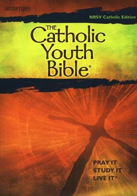NRSV Catholic Youth Bible, Third Edition, Softcover  -     Edited By: Ginny Halbur     By: Ginny Halbur, ed.