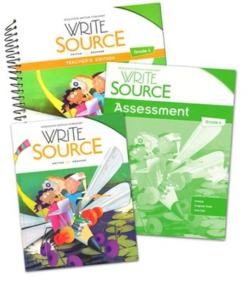 Write Source Grade 4 Homeschool Package   -