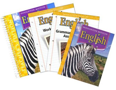 Houghton Mifflin English Grade 5 Homeschool Package   -