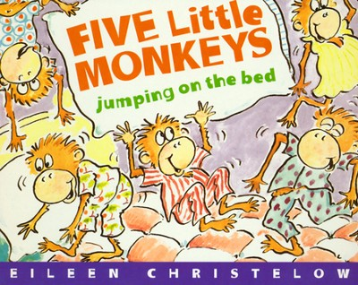 Five Little Monkeys Jumping on the Bed (boardbook)   -     By: Eileen Christelow     Illustrated By: Eileen Christelow