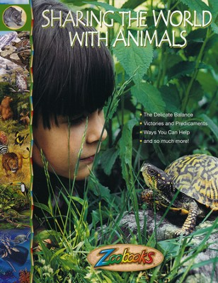 Sharing the World with Animals, Softcover   -