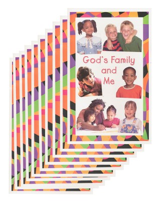 God's Family and Me - pamphlet - pack of 10   -     By: Stonecroft Ministries