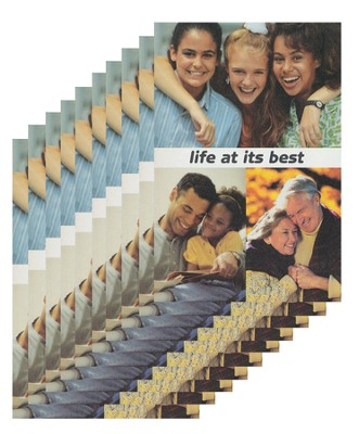 Life at Its Best - pamphlet - pack of 10   -     By: Stonecroft Ministries