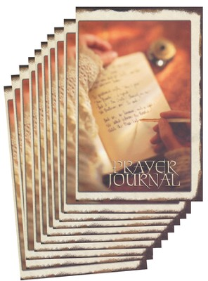 Prayer Journal - pamphlet - pack of 10   -     By: Stonecroft