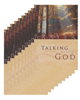 Prayer: Talking With God - pamphlet - pack of 10   -     By: Stonecroft Ministries