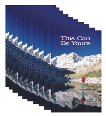 This Can Be Yours - pamphlet - pack of 10   -     By: Stonecroft Ministries