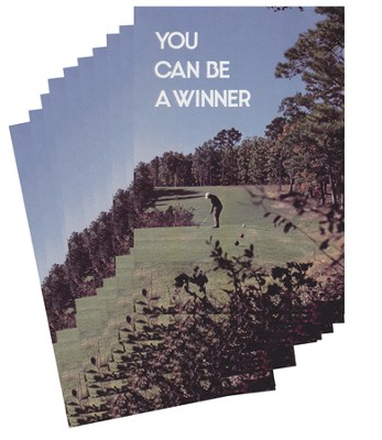 You Can Be a Winner - pamphlet - pack of 10   -     By: Stonecroft Ministries