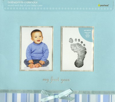 My First Year Calendar Blue  -