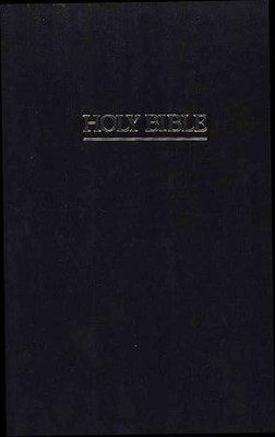 NRSV Ministry/Pew Bible Black   -