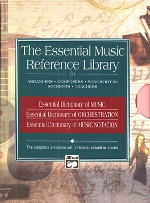 The Essential Music Reference Library (3 Books)   -