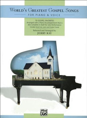 World's Greatest Gospel Songs for Piano & Voice   -     By: Jerry Ray