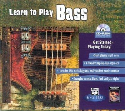 Learn to Play Bass CD-ROM   -