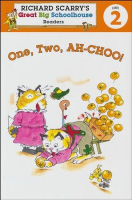 Richard Scarry's Readers (Level 2): One, Two, AH-CHOO!  -     By: Erica Farber     Illustrated By: Huck Scarry