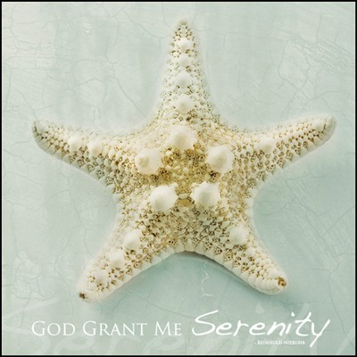 God Grant Me Serenity Mounted Print  -