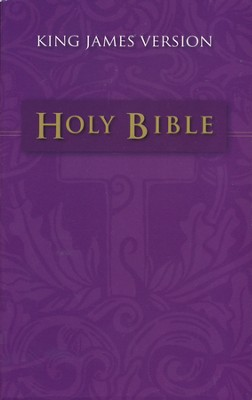 The KJV Holy Bible, Mass Market Edition  - Slightly Imperfect  -
