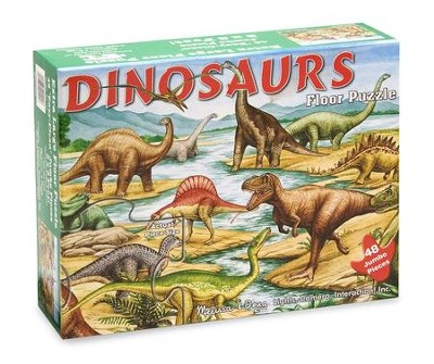 Dinosaurs Floor Puzzle, 48 pieces  -