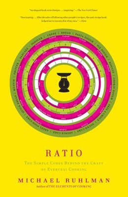 Ratio: The Simple Codes Behind the Craft of Everyday Cooking - eBook  -     By: Michael Ruhlman