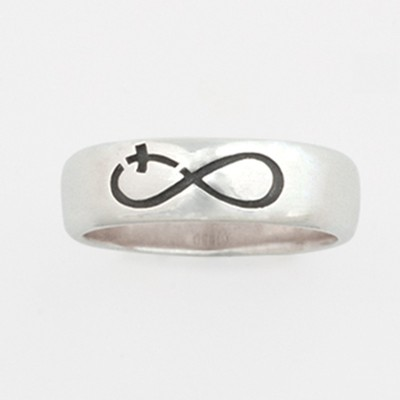 Infinity Cross Ring, Size 8  -