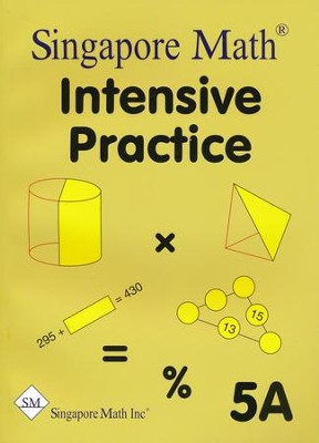 Singapore Math Primary Math Intensive Practice U.S. Ed 5A   -