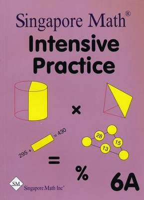 Singapore Math Primary Math Intensive Practice U.S. Ed 6A   -