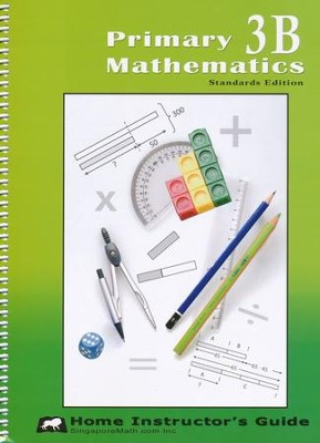 Primary Mathematics Home Instructor's Guide 3B (Standards Edition)  -