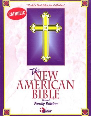 NAB Catholic Family Bible, Imitation Leather White   -