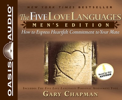 The Five Love Languages for Men - audiobook on CD  -     By: Gary Chapman