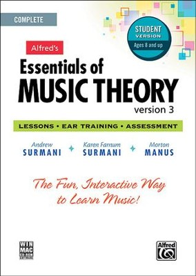 Essentials of Music Theory CD-Rom Student Version 3  Complete Volume Package  -     By: Andrew Surmani, Karen Farnum Surmani, Morton Manus
