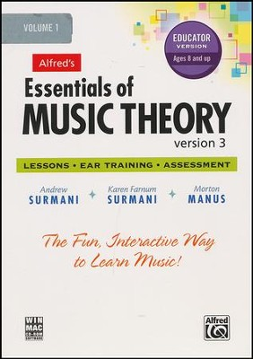 Essentials of Music Theory CD-Rom Educator's Version 3, Volume 1  -     By: Andrew Surmani, Karen Farnum Surmani, Morton Manus