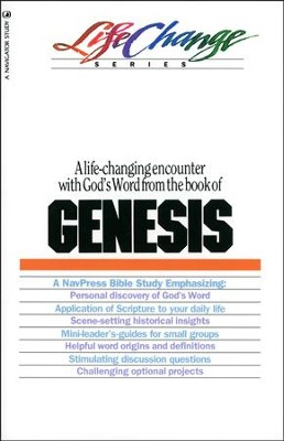 Genesis, LifeChange Bible Study Series  -