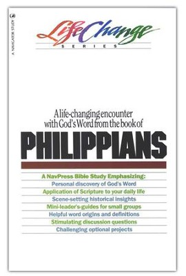 Philippians, LifeChange Bible Study   -