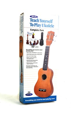 Alfred's Teach Yourself to Play Ukulele, Complete Starter Pack  -     By: Morton Manus, Ron Manus