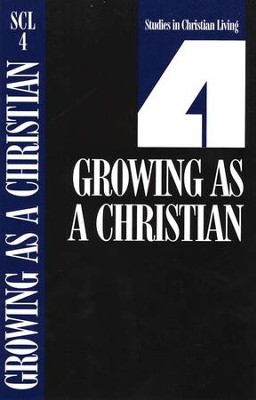 Book 4: Growing As a Christian, Studies in Christian Living Series - Slightly Imperfect  -