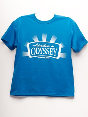 Adventures in Odyssey ® Youth T-Shirt, Sapphire Large  -