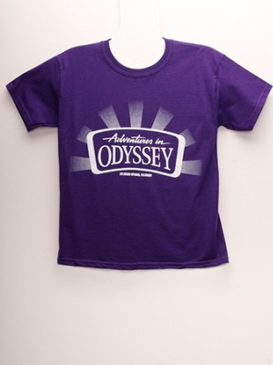 Adventures in Odyssey® Youth T-Shirt, Purple Small  -