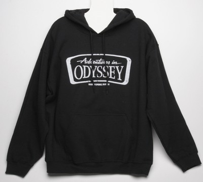 Adventures in Odyssey ® Adult Black Hoodie, Medium  -